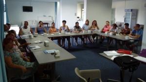 Functionari publici la cursurile Columna